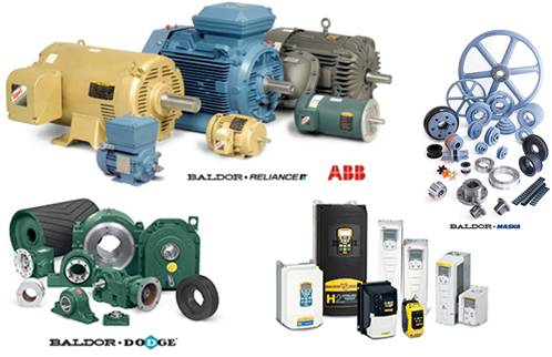 Productos BALDOR-DODGE-RELIANCE-MASKA-ABB